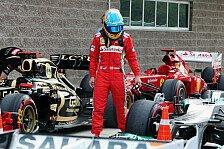 Formel 1 - Alonso fordert schleunigst Updates: Ferrari hat nur ein Ziel: Vor Vettel landen