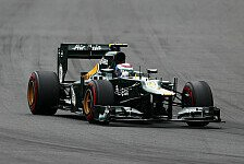 Formel 1 - Keine Probleme bei Caterham: Ruhiges Rennen f�r Petrov & Kovalainen