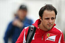Formel 1 - Nicht daran zerbrechen: Blog - Massa: Sportlich top, psychologischer Flop