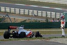 Formel 1 - Untypisch f�r uns: McLarens Technik-Misere beunruhigt Button