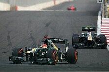 Formel 1 - Vorteile aus dem ziehen, was vor uns passiert: Caterham gibt sich vor dem Indien GP bescheiden