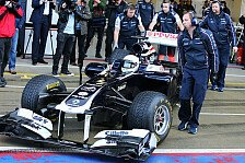 Formel 1 - Test war nicht blo� Show-Run: Wolff: Tr�ume jetzt nicht vom F1-Stammcockpit