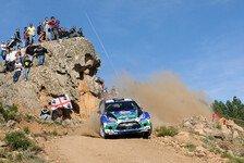 WRC - Lenkdefekt verhindert Weiterfahrt: Sardinien: Solberg raus