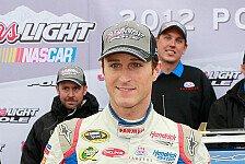 NASCAR - Brad Keselowski startet nur von Rang 25: Vierte Saison-Pole f�r Kasey Kahne