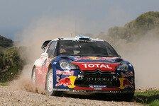 WRC - Podestpl�tze scheinen bezogen: Hirvonen f�hrt in den letzten Sardinen-Tag