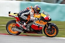 MotoGP - Stoner Zweiter vor Lorenzo: Pedrosa Schnellster im Warm-Up in Sepang