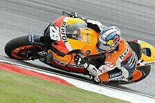 MotoGP - Lorenzo rettet Platz zwei: Abbruchrennen in Sepang geht an Pedrosa