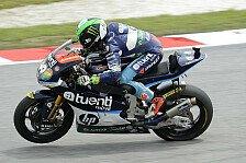 Moto2 - Regenverkürztes 2. Training geht an Espargaro