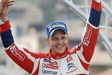 WRC - Ogier schreibt Geschichte: Sardinien: Hirvonen siegt erstmals mit Citroen