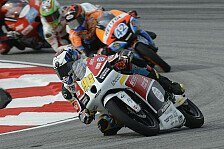 Moto3 - Ergebnis verbessern: Rossi & Finsterbusch hoffen auf gutes Wetter