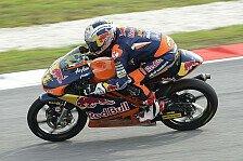 Moto3 - Folger und Vazquez in Reihe eins: Regen verhilft Cortese zur Moto3-Pole
