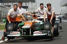 Formel 1 - Haltlose Ger�chte: Force India: Finanzkrise? Das ist doch Bl�dsinn