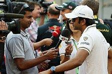 Formel 1 - Es geht nur um das Geld: Sorge um indischen F1-Nachwuchs