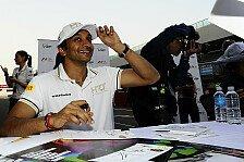 Formel 1 - Klappern f�r den Inder: Ecclestone: Karthikeyan soll zu Force India