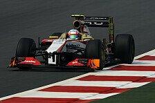 Formel 1 - Pic geschlagen: Hydraulik-Problem stoppt Karthikeyan