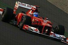 Formel 1 - Haben die Hoffnung noch nicht aufgegeben: Ferrari: Qualifying-Ziel verpasst