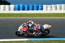 Moto3 - Finsterbusch: Ein schwieriger Tag: Rossi mit viel Selbstvertrauen