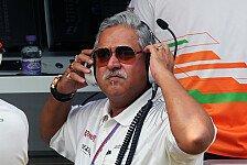 Formel 1 - Platz vier um jeden Preis verteidigen: Vijay Mallya: In Kanada kann alles passieren