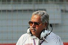 Formel 1 - Ein falsches Signal: Mallya spricht sich gegen Paydriver aus
