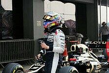 Formel 1 - Reifenschaden kostete viel Zeit: Maldonado: Ein sehr ungl�ckliches Rennen f�r mich