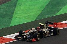 Formel 1 - Guter Speed, schlechte Position: Lotus reist unzufrieden aus Indien ab