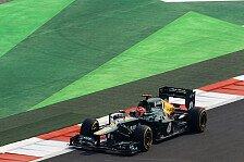 Formel 1 - Neue Teile in Abu Dhabi: Caterham schwenkte auf Einstopp-Strategie um