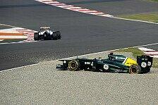 Formel 1 - Die Front verloren: Kovalainen drehte sich von der Strecke