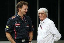 Formel 1 - Gibt keinen Besseren als ihn: Horner voll des Lobes f�r Ecclestone