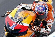 MotoGP - Lorenzo drei Zehntel vor Pedrosa: Stoner bleibt im Warm-Up vorne