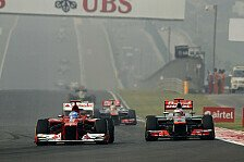 Formel 1 - Sie verga�en am Start, dass ich da war: Alonso dankt insgeheim McLaren-Piloten