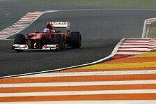 Formel 1 - Eine echte Challenge: Video: Eine Runde mit Alonso in Indien
