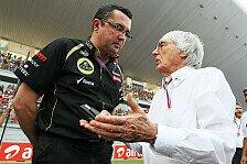 Formel 1 - Concorde Agreement Folge 2: Ecclestone trifft sich mit kleinen Teams