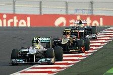 Formel 1 - Ohne Reifenverschlei� keine gro�en Spr�nge: Strategiebericht zum Indien GP