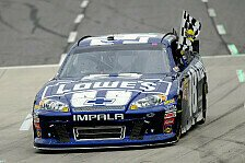 NASCAR - Siebte Grandfather-Clock f�r Johnson: Sieg und Tabellenf�hrung f�r Jimmie Johnson