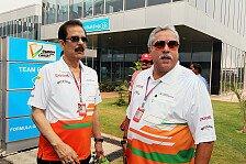 Formel 1 - Getrennte Gesch�ftsbereiche: Mallyas Finanzen: Keinen Einfluss auf Force India