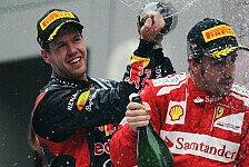 Formel 1 - Vettel und Alonso: Tief- und Hochstapler