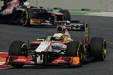 Formel 1 - Problemzone Bremsen: Ma Qing Hua freitags im Einsatz