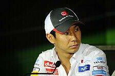 Formel 1 - Di Grassi gesetzt: Pirelli-Testfahrer: Sutil und Kobayashi ein Thema