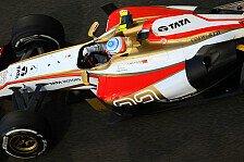 Formel 1 - Eine Reise ins Blaue: HRT: Streckenzeit am Freitag entscheidend