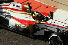 Formel 1 - Letzte Startreihe f�r HRT: De la Rosa zufrieden, Karthikeyan nicht