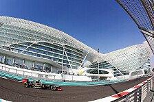 Formel 1 - Talentsichtung in Abu Dhabi: Auftakt zu den letzten Young Driver Days