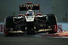 Formel 1 - Grosjean sucht die halbe Sekunde: Gute Ausgangsposition f�r R�ikk�nen