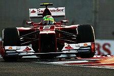 Formel 1 - Nicht genug f�r die Top-Teams: Massa: Ferraris Updates reichen nicht aus