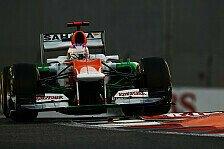 Formel 1 - Platten, Perez, Punkte: Di Resta: Hektisches Rennen mit gutem Ende