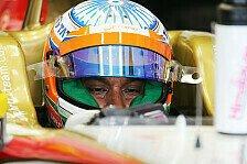 Formel 1 - Die Steuerung steckte fest: Karthikeyan verlangsamte Hydraulik-Problem