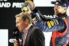 Formel 1 - Erste Ausfahrt im PKW: Vettel und Coulthard testen Strecke in Sotschi