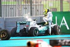Formel 1 - Oh man - jetzt geht's ab: Videoblog - Nico Rosberg: Abu Dhabi GP
