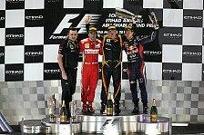 Formel 1 - Bilder: Abu Dhabi GP - Podium