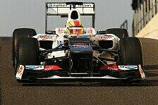 Formel 1 - Hoffnung auf Young Driver Tests: Frijns: Sauber ist eine gro�e Familie