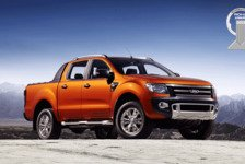 Auto - F�nf Sterne beim Crashtest : Ford Ranger erh�lt International Pick-Up Award